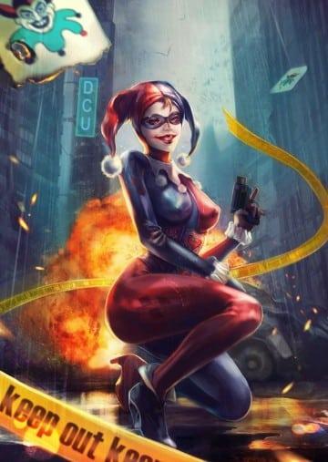 imagenes de la mujer del guason de los comics