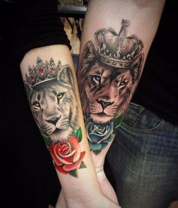 imagenes de tattoo para parejas enamoradas