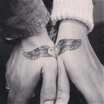 imagenes de tattoo para parejas pequeñas