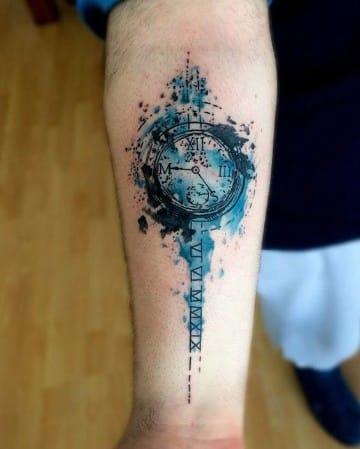 tatuajes nuevos para hombres a color