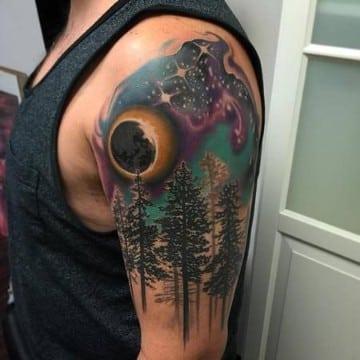 tatuajes nuevos para hombres con color