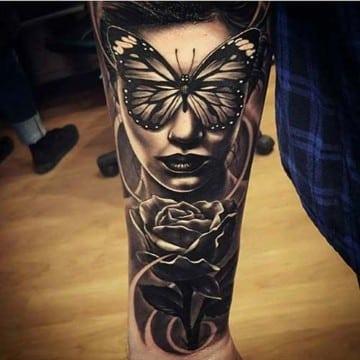 tatuajes sombreados y difuminados artisticos