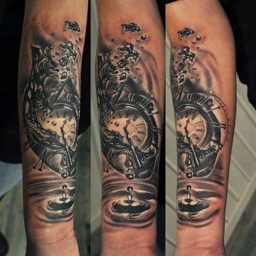 tatuajes sombreados y difuminados creativos