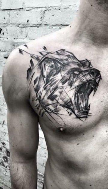 diseños de tatuajes de animales geometricos