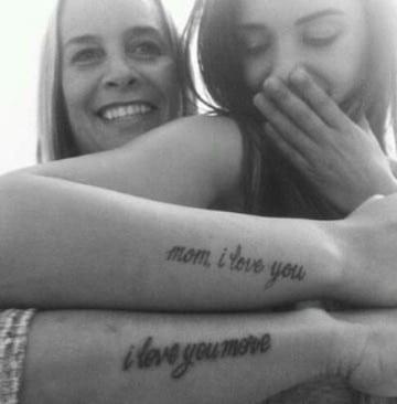 frases de tatuajes para madres e hijas
