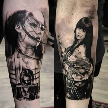 tatuajes chinos y su significado katana