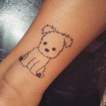 tatuajes de bebes recien nacidos caricatura