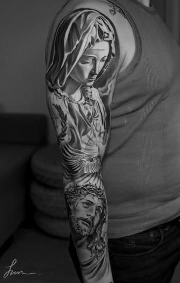 tatuajes de imagenes religiosas virgen