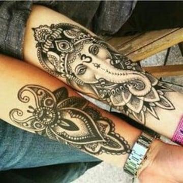tatuajes espirituales para mujeres detallado
