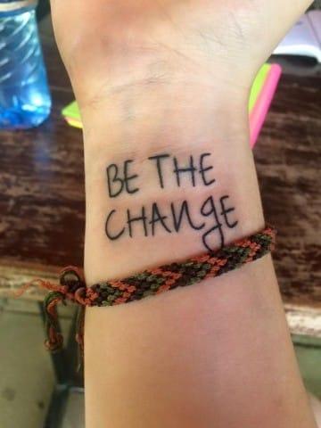 tatuajes que signifiquen cambio de vida en ingles