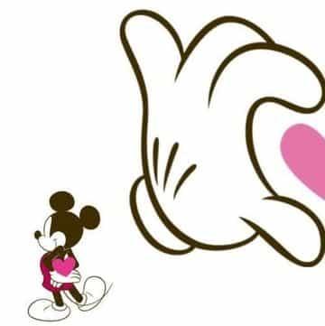 imagenes de las manos de mickey corazon
