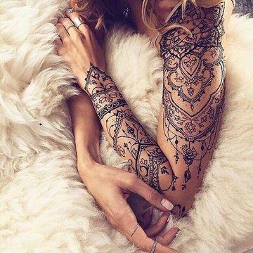tatuajes bellos para mujer brazos