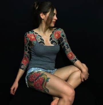 tatuajes japoneses para mujeres