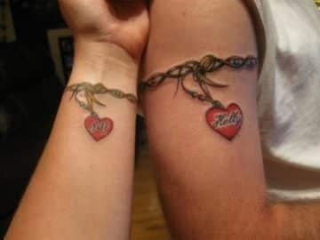 tatuajes para novios con significado de enamorados