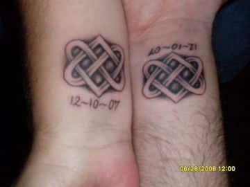 tatuajes para novios con significado simbolicos