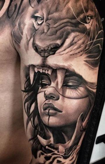 tatuajes de mujeres guerreras luchadoras