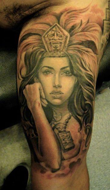 tatuajes de mujeres guerreras para hombres