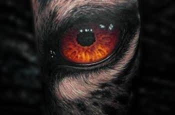 Grandiosos Disenos De Tatuajes De Ojos De Gato