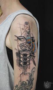 tatuajes de ojos para mujeres brazo