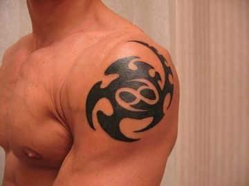 tatuajes de signo cancer hombres
