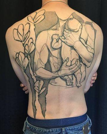 tatuajes significativos para hombres de familia