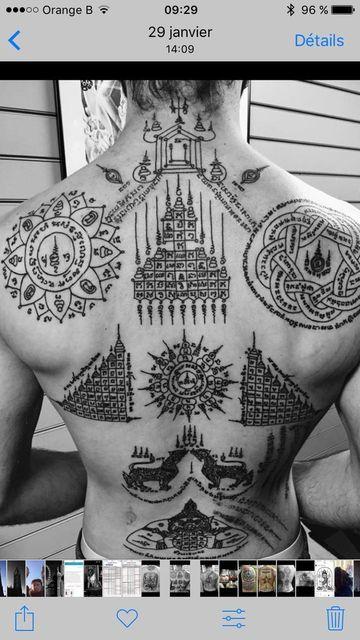 tatuajes budistas de proteccion para hombres