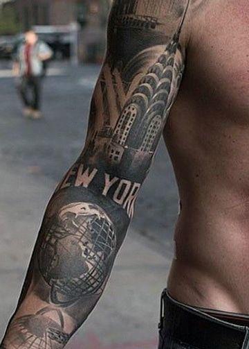 tatuajes chidos para hombres brazo