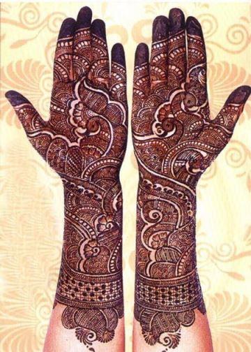 tatuajes de gena en la mano completa