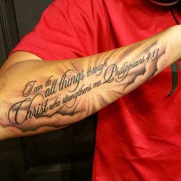 tatuajes elegantes para hombres frases
