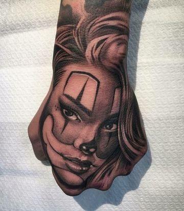 tatuajes en la mano para hombres increibles