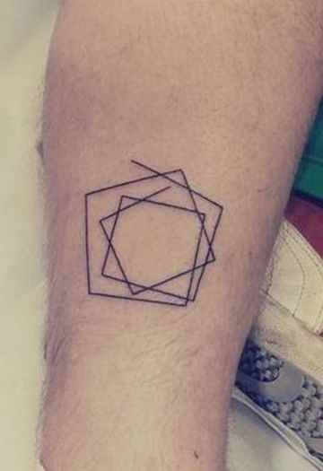 tatuajes finos para hombres de linea fina