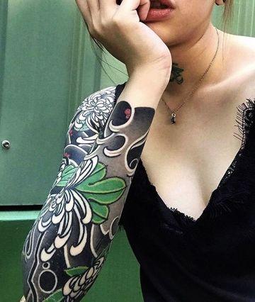 fondos para tatuajes en el brazo de mujer