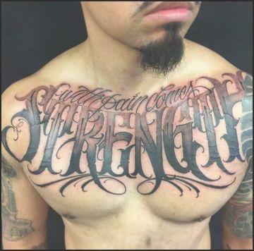 tatuajes de libertad y fuerza para hombres