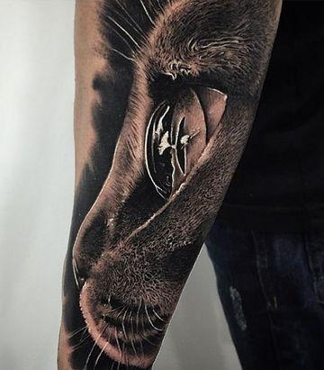 tatuajes de ojos de animales para hombres