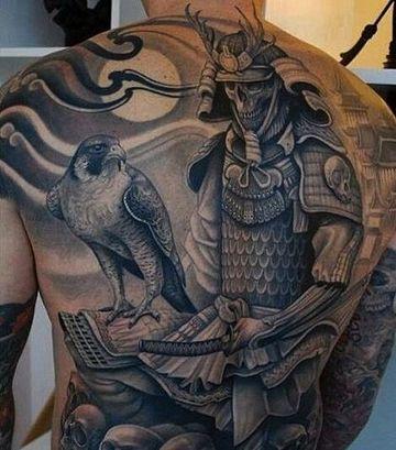 tatuajes grandes para hombres espalda