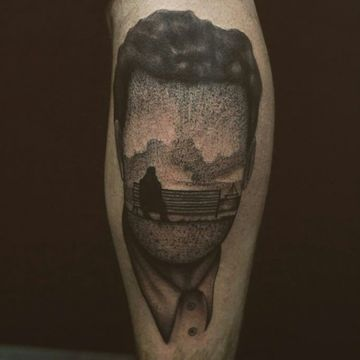 tatuajes que signifiquen soledad de hombres