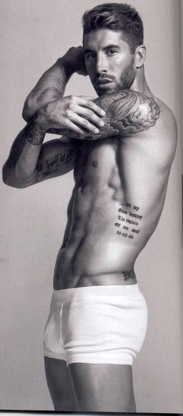 los mejores tatuajes de futbolistas Sergio Ramos