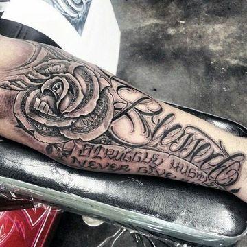 tatuajes bacanos para hombres en el brazo