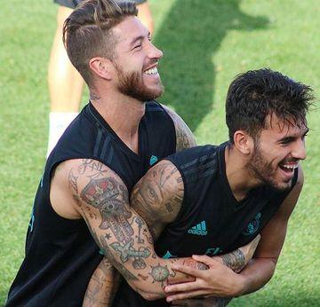 tatuajes de futbolistas famosos sergio ramos