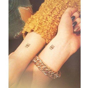 tatuajes iguales para amigas pequeños