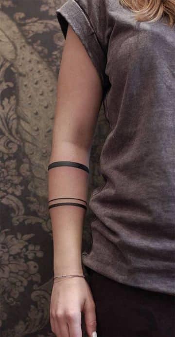 tatuajes para brazos delgados de mujeres