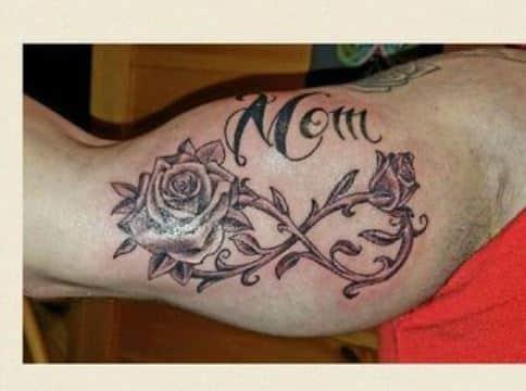 tatuajes de infinito para hombres en el brazo