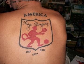 tatuajes del america de cali para hombres
