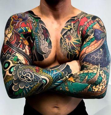 los mejores tatuajes japoneses del mundo en hombres
