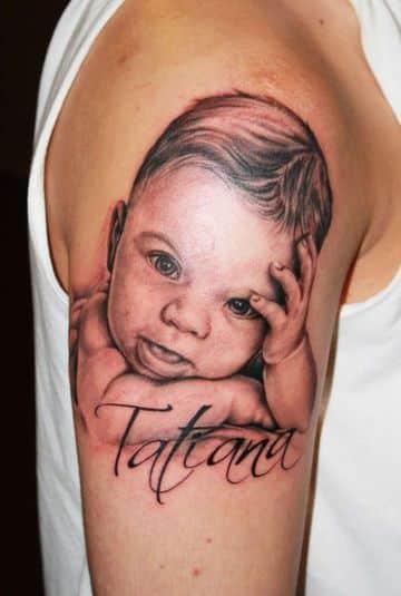tatuajes de madres para hijos hermosos