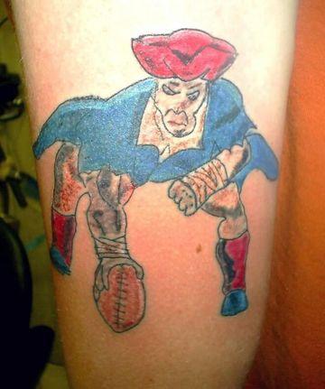 tatuajes feos mal hechos a color