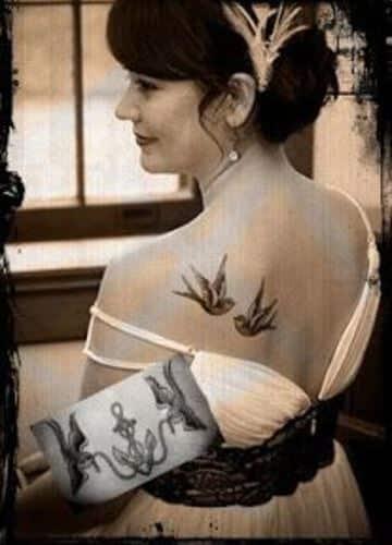 tatuajes de golondrinas para mujeres con significado