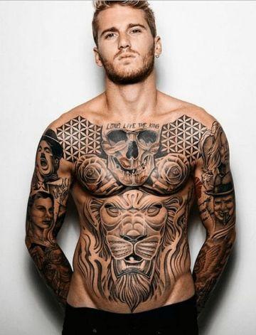 tatuajes en todo el cuerpo de hombres