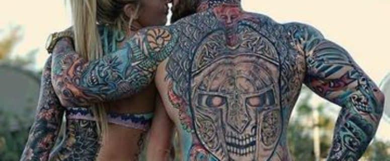 Ideas Originales De Tatuajes Para Parejas En La Espalda