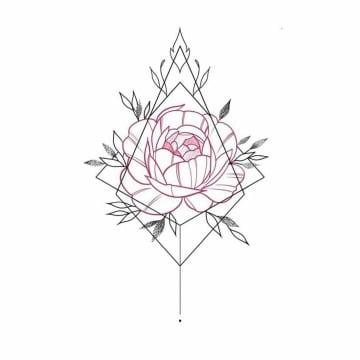 imaganes de bocetos de rosas para tatuar